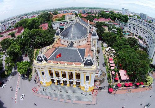 Boundaries to be broken around Hanoi Opera House under ministry plan