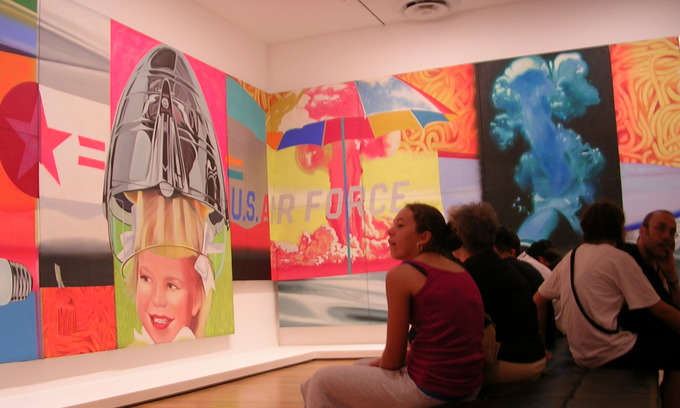 James Rosenquist, famous for anti-Vietnam War painting, dies in New York