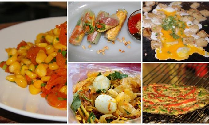The favorite afternoon snacks of Saigon