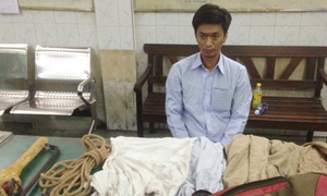 Worst thief ever? A burglar raids Saigon office before falling asleep on site
