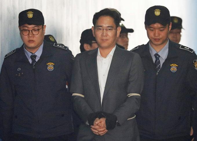 Samsung heir accused of bribery, perjury as trial opens