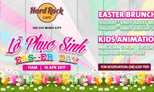 Easter Day: Brunch buffet & Fun