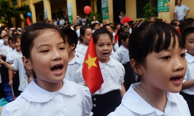 Vietnam plans to teach foreign language from first grade