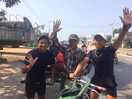 Grandpa walks the length of Vietnam