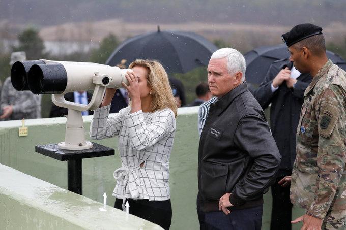 Pyongyang should not 'test Trump's resolve' - VP Pence