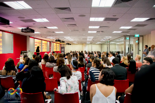 The fourth CrowFundHer Live! event held in Singapore in June last year. Photo courtesy of Woomentum