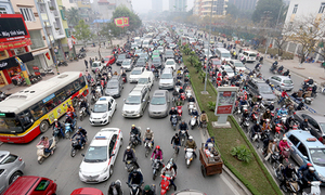 Slow down: WHO says cars are moving too fast in Hanoi