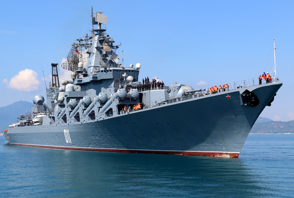 Russian Navy ship group starts 5-day visit to Vietnam