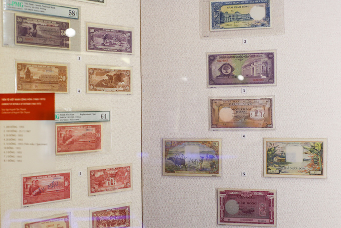 For 20 years of existing from 1955 to 1975, the South Vietnam regime, or the Republic of Vietnam, issued ten collections of banknotes and five collections of coins.