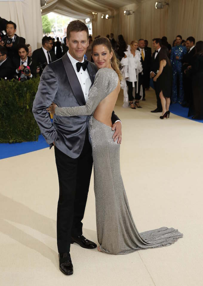 Gisele Bundchen and husband, New England Patriots NFL quarterback Tom Brady. Photo by Reuters/Lucas Jackson