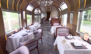 At $10,000 a ticket, Japan train offers luxury at a premium