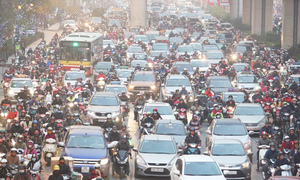 Hanoi slowly choking on rising air pollution