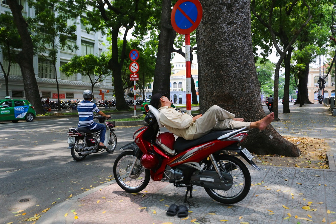Sleeping in Saigon
