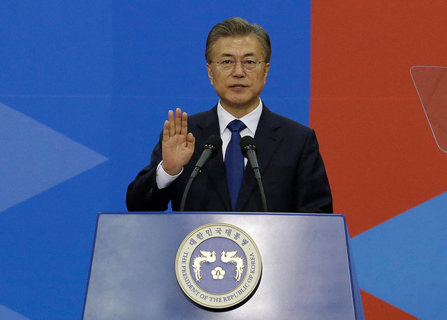 new-south-korea-president-vows-to-address-nkorea-broader-tensions-urgently