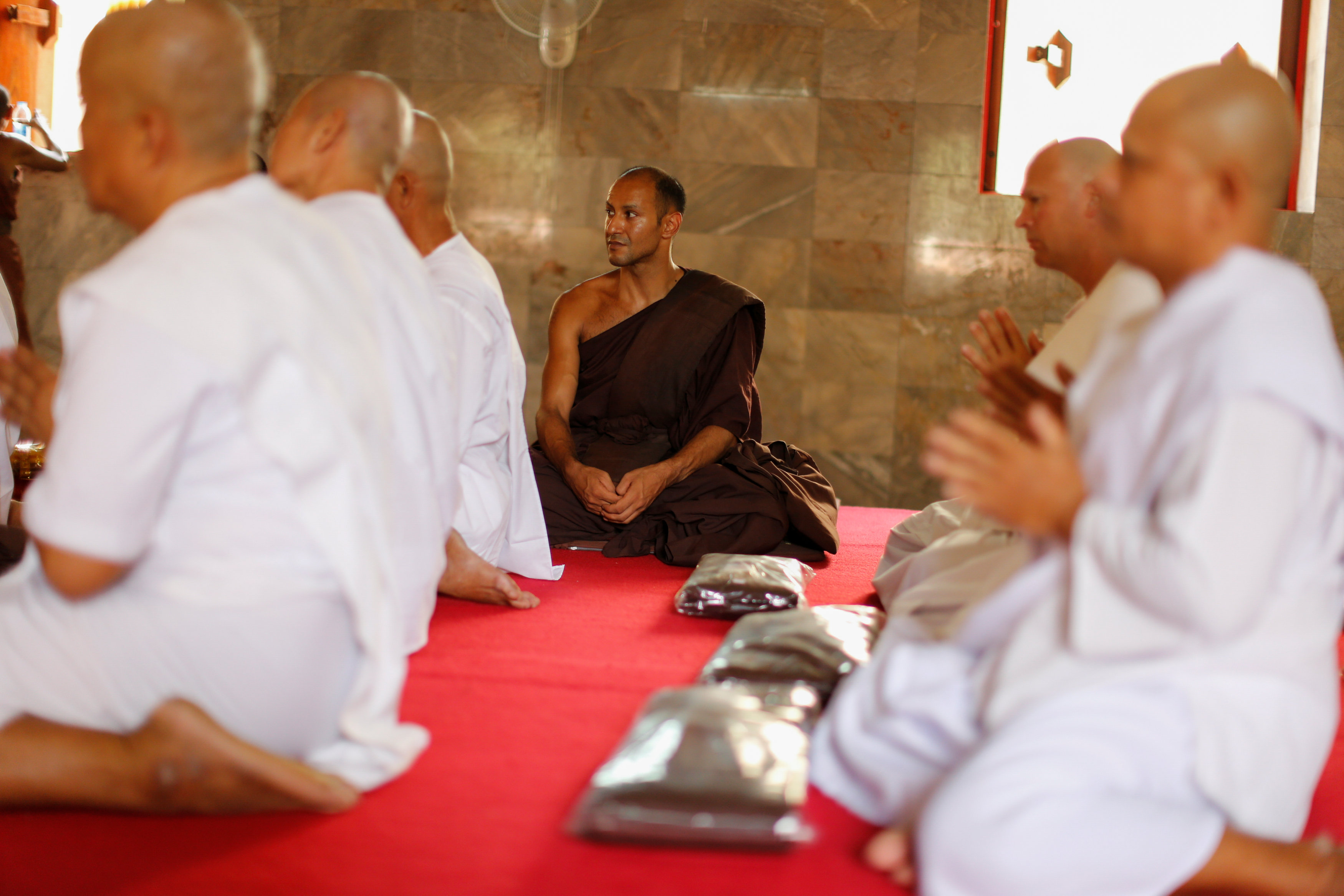 Fighting addiction at a Thai monastery