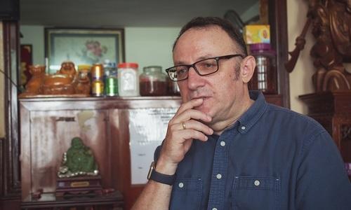 Mystery guardian angel shines over British filmmaker in Vietnam