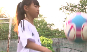 Why this Vietnamese girl is called 'Mekong Messi'