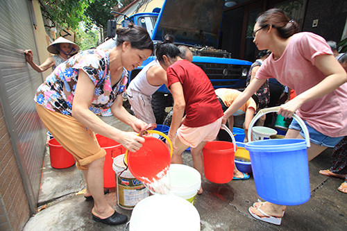 Hanoi's water supply forecast to run dry during hot summer