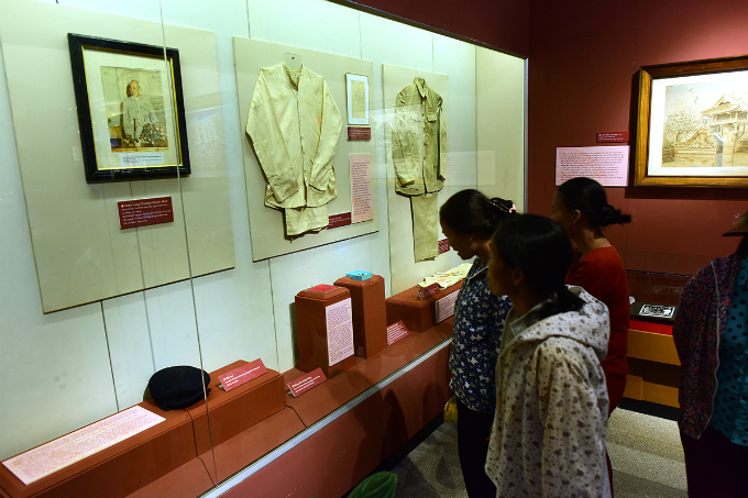 life-of-a-leader-chronicled-in-president-ho-chi-minh-exhibition
