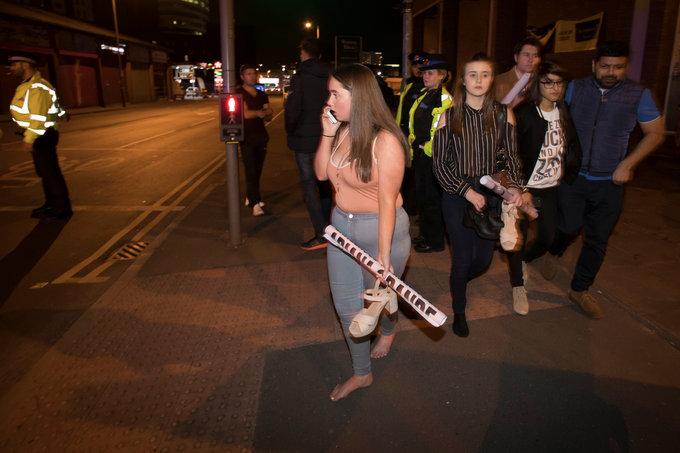 At least 19 dead in blast at Ariana Grande concert in British arena