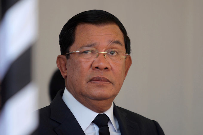 Cambodia PM repeats warning of war if opposition wins vote