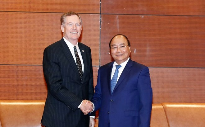 Vietnam's prime minister starts first US visit