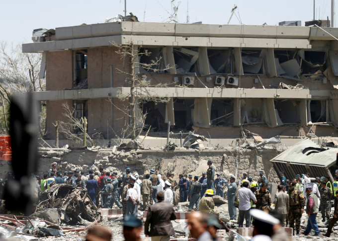 Huge bomb blast kills 80, wounds hundreds in Afghan capital