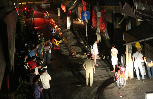 Bystanding boy killed in slashing spree on Saigon street