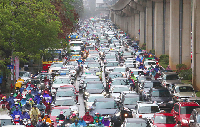 Hanoi revives plan to ban motorbikes in uphill battle against congestion