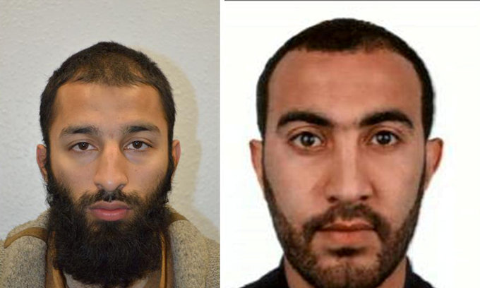 UK police reveal names of London attackers, say one investigated before