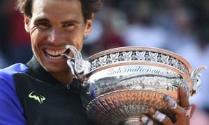 Tennis: Nadal wins record-breaking 10th French Open