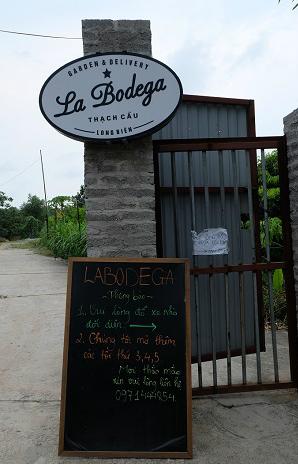 Entrance to La Bodega.