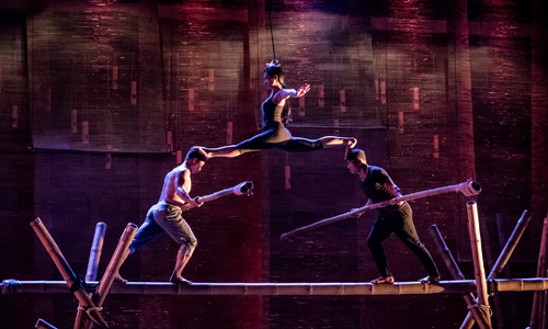 Behind the scenes of Vietnam's circus show 'My Village'