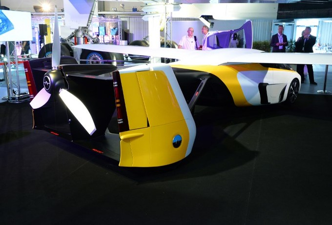 Race is on to turn flying car into reality