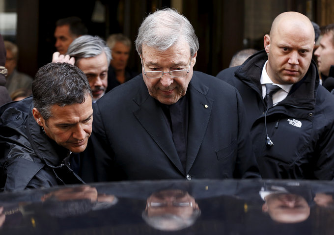 Australian police charge Vatican treasurer over historical sexual assaults