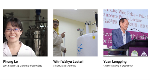 Phung and two other scientists in the sub-list of Agricultural Sciences. Screenshot of the Asian Scientist website.