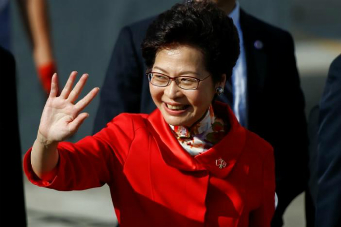 chinese-president-swears-in-new-hong-kong-leader-amid-protests