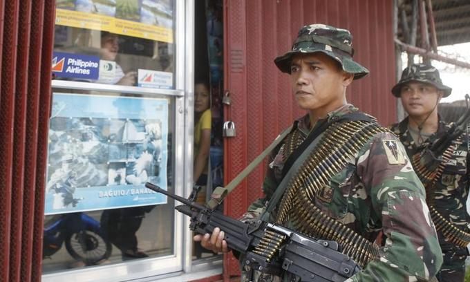 Maoist rebels in Philippines attack presidential guards; 1 dead, 5 wounded