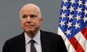 US Senator McCain diagnosed with brain tumor: McCain's office