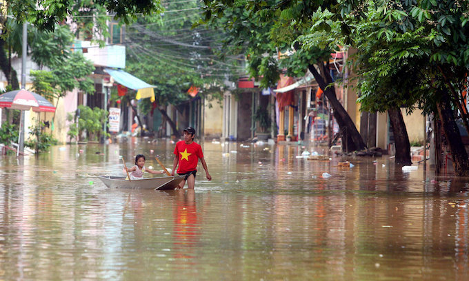 Heavy rains to continue pounding Vietnam