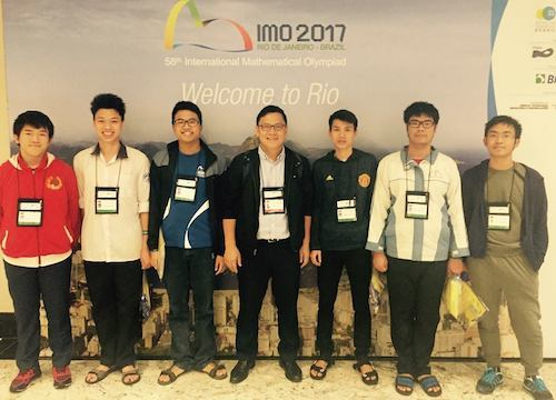 Vietnamese student wins highest score at int'l math olympiad