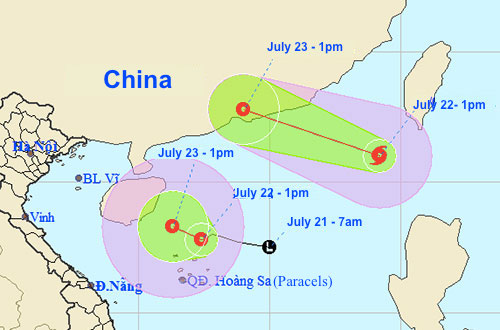 Hong Kong issues second warning this year as Cyclone Roke lands
