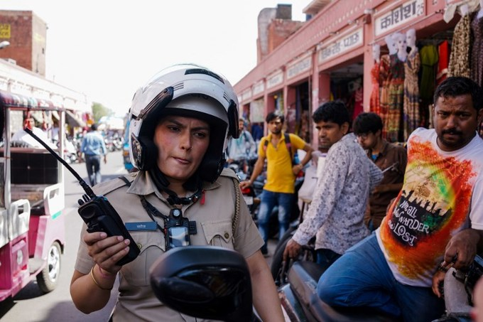 The force is female: India's women cops take a stand