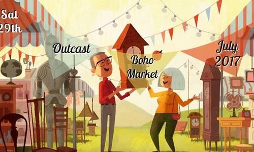Marketplace: Outcast Boho Market July 2017