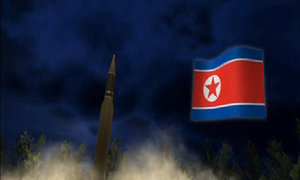 North Korea missile test hits dangerously close to Air France flight path