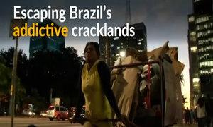 For former crack addict, Brazil's trash offers hope