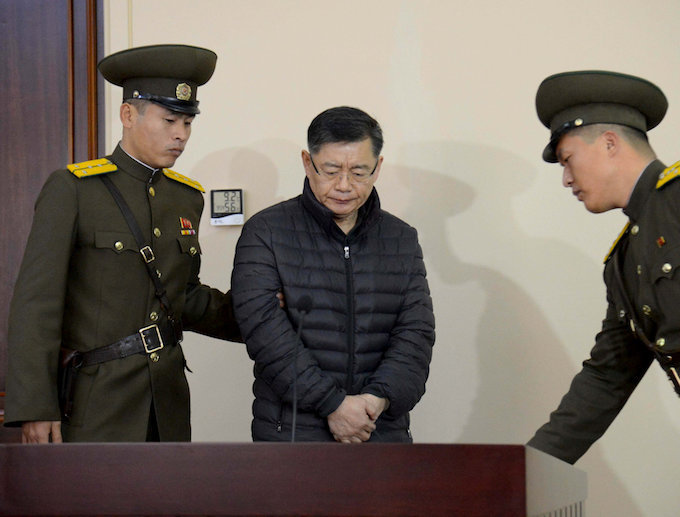 Amid standoff with US, North Korea releases jailed Canadian pastor