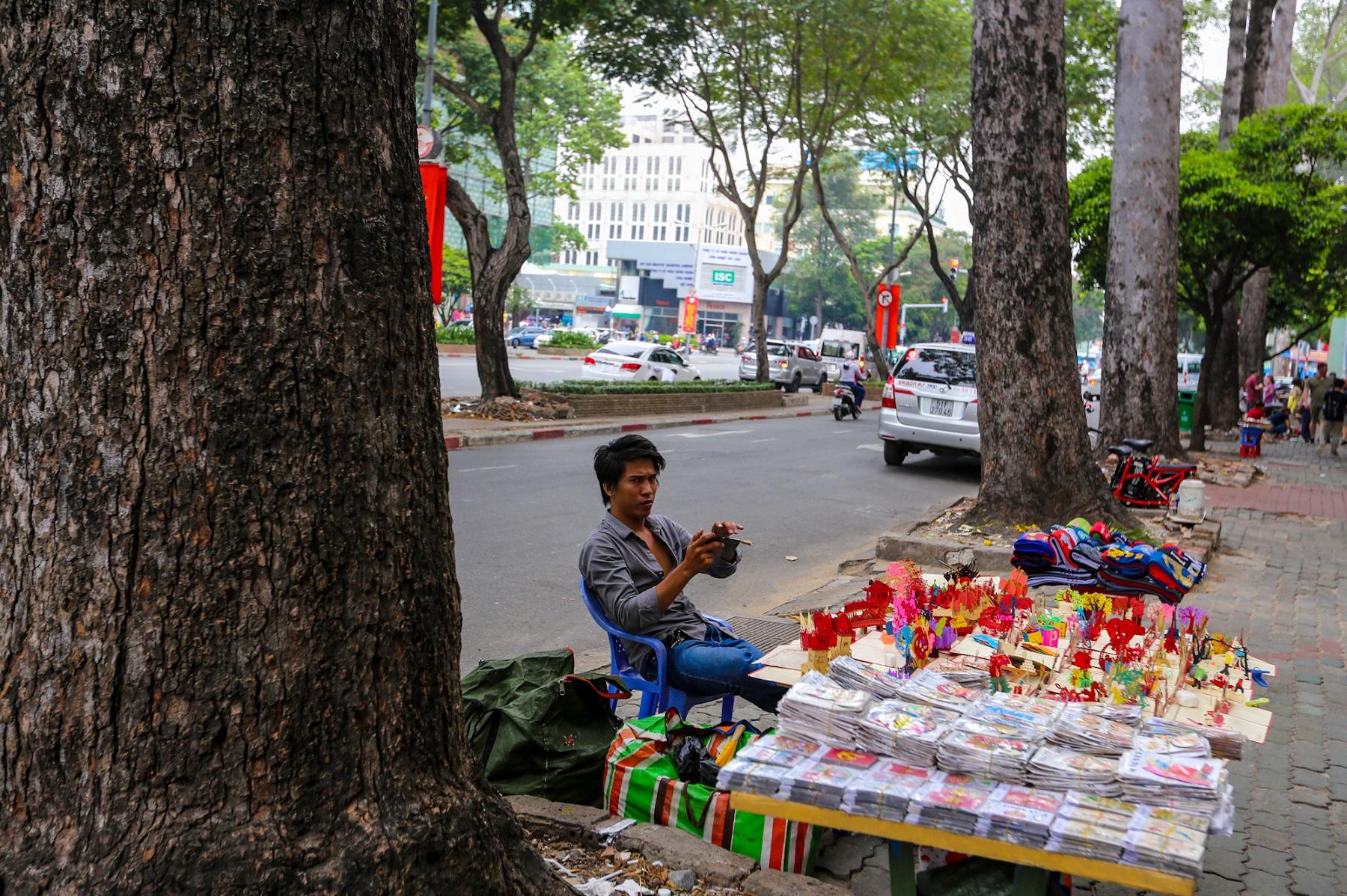 Falling trees threaten a way of life in Saigon