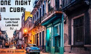 Live concert: One Night in Cuba