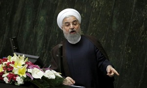 Iran says can quit nuclear deal if US keeps adding sanctions